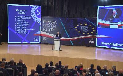 Kaczyński: nasz plan to, by w sercu Europy uzyskać europejski poziom życia dla Polaków