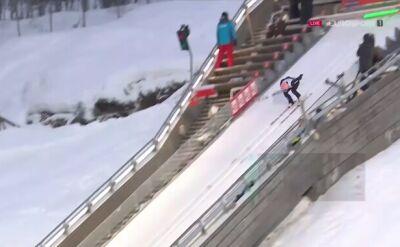 Dawid Kubacki trzeci po pierwszej serii w Lillehammer