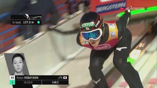 Skok Ryoyu Kobayashiego po zwycięstwo w Trondheim