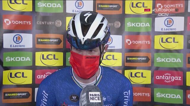 Bennett po zwycięstwie na 1. etapie wyścigu Paryż-Nicea