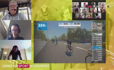 Eric Dier z Tottenhamu kręcił na trasie ORLEN e-Tour de Pologne Amatorów