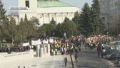 Polish farmers protested in Warsaw against government's agricultural policy