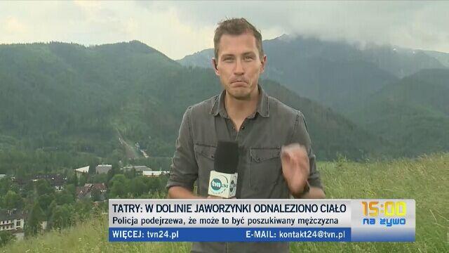 W Tatrach znaleziono ludzkie szczątki. Leżały 100 metrów od szlaku