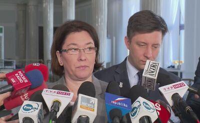 Mazurek: wniosek PO jest niemerytoryczny, czysto polityczny