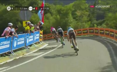 Mikel Iturria wygrał 11. etap Vuelta a Espana