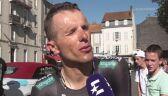 Rafał Majka: Było ciężko, ale lepiej niż w Andorze