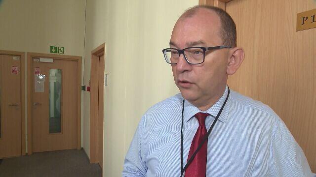 """Sędzia Przemysław Radzik w rozmowie z reporterem """"Faktów"""" TVN"""