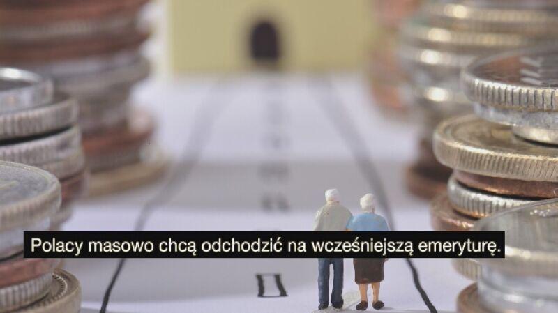 Polacy odchodzą na emeryturę