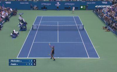 Szczęście Nadala w finale US Open