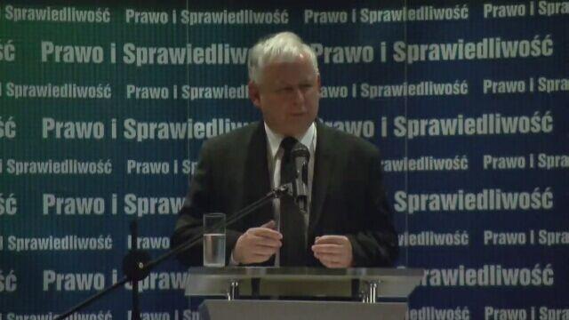 Przemówienie Jarosława Kaczyńskiego w kinie Wisła. Część 1