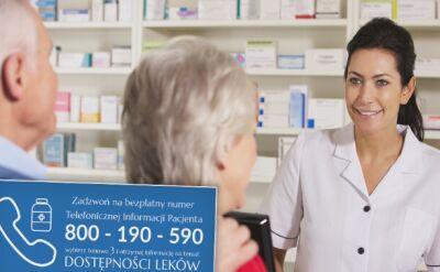 Sprawdziliśmy, czy i jak działa infolinia w sprawie dostępności leków