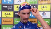 Julian Alaphilippe po 13. etapie Tour de France