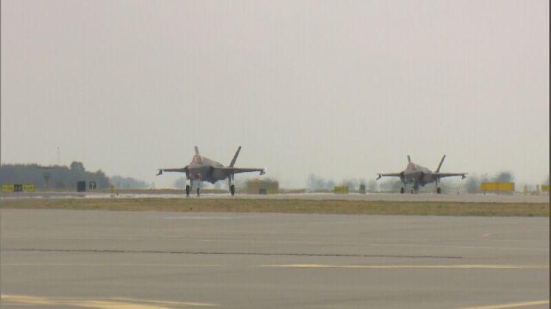 Pierwsze lądowanie F-35 w Polsce