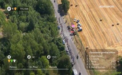 Gdzie jest Mikel Landa? Wypadek na 10. etapie Tour de France