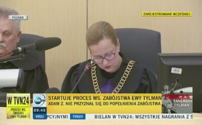 Adam Z.: nie zabiłem Ewy Tylman. Co wiemy po pierwszym dniu procesu