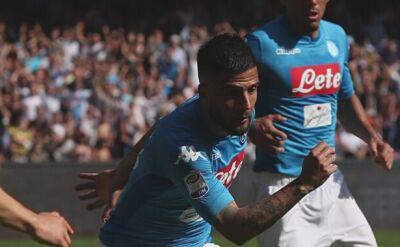 Napoli - Chievo 2:1. Gole Milika i Stępińskiego