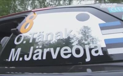 Tanak najszybszy na odcinku testowym Rajdu Finlandii