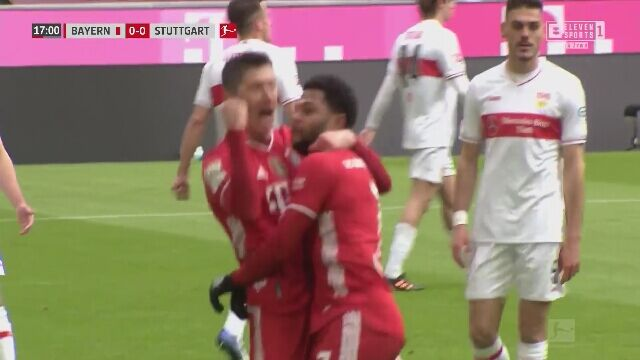 Hat-trick Lewandowskiego z VfB Stuttgart