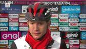 Rozmowa z Joe Dombrowskim po 4. etapie Giro d'Italia