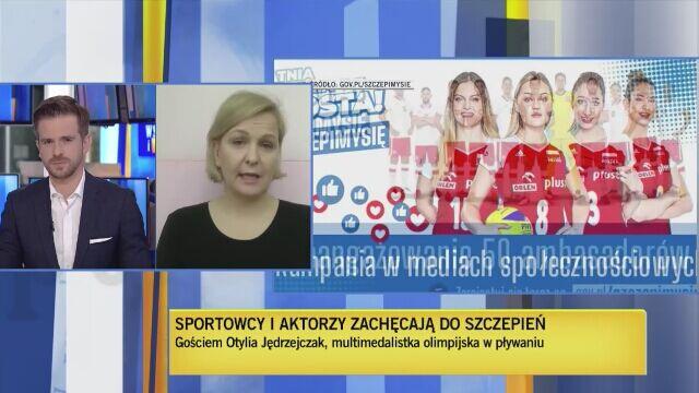 Otylia Jędrzejczak o powrocie do aktywności fizycznej