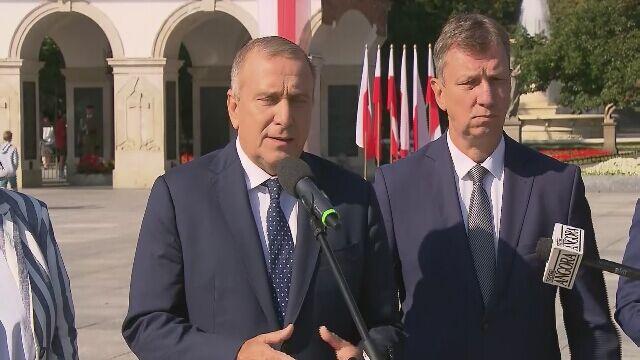 Grzegorz Schetyna: jeśli wygramy wybory, godnie przygotujemy obchody setnej rocznicy Bitwy Warszawskiej