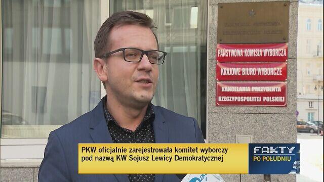 """Logotyp ze słowem """"Lewica"""" legalny"""