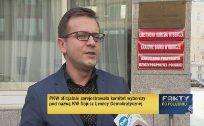 PKW zarejestrowała komitet wyborczy pod nazwą KW Sojusz Lewicy Demokratycznej