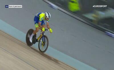 Niespodziewany bohater mistrzostw Francji w kolarstwie torowym