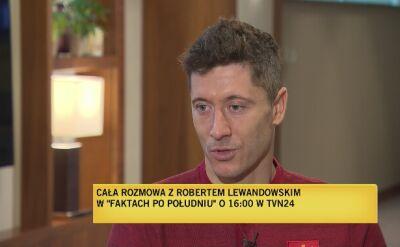 Robert Lewandowski: drugie dziecko dodatkową motywacją