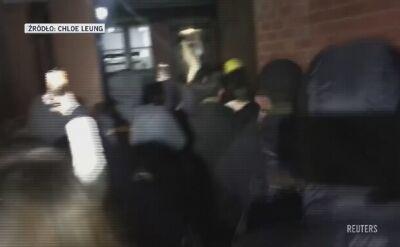 Sekretarz z Hongkongu zaatakowana w Londynie