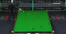 Świetne wbicie Bingyu w starciu z Higginsem w 1. rundzie Northern Ireland Open