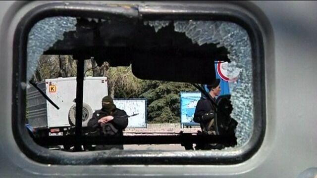 Baza w Mariupolu. Dzień po ataku