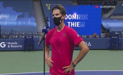 Dominic Thiem po czwartym w karierze awansie do finału US Open