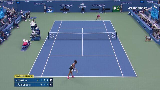 Piłka meczowa z finału US Open