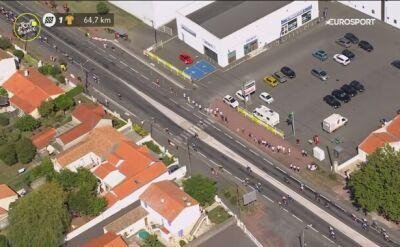 Martin i Pogacar uczestniczyli w wypadku na 10. etapie Tour de France