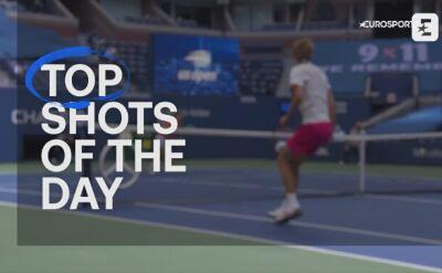 Top 5 najlepszych zagrań półfinałów gry pojedynczej mężczyzn w US Open