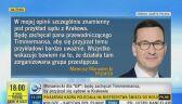 Reakcje środowiska sędziowskiego na słowa Morawieckiego