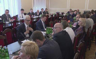 Dyskusja na temat zmiany porządku obrad komisji sprawiedliwości