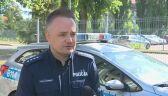 Policja o ataku na Przemysława Witkowskiego