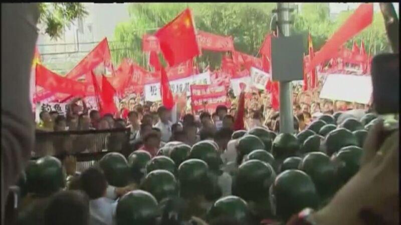 Antyjapońskie protesty w Chinach w 2012 roku