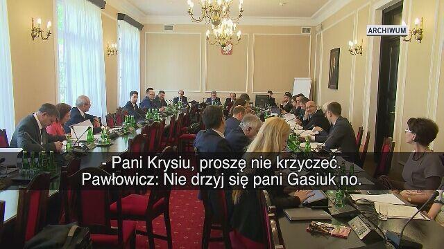 Krystyna Pawłowicz zasłynęła między innymi takimi wypowiedziami