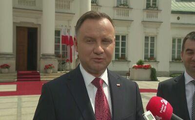 Prezydent gratuluje zwyciezcom w wyborach do europarlamentu