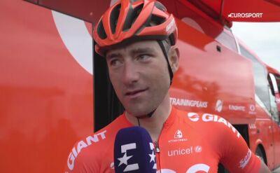 Owsian po 18. etapie Giro d'Italia