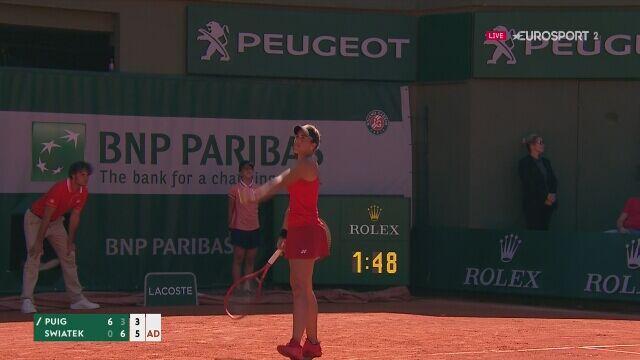 Iga Światek pokonała Monicę Puig w 3. rundzie Rolanda Garrosa