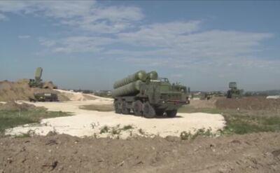 Rosyjskie systemy S-400 w Syrii