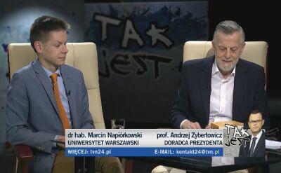 Marcin Napiórkowski i Andrzej Zybertowicz w Tak Jest