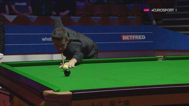 Brejk 132 Marka Selby'ego w półfinale MŚ
