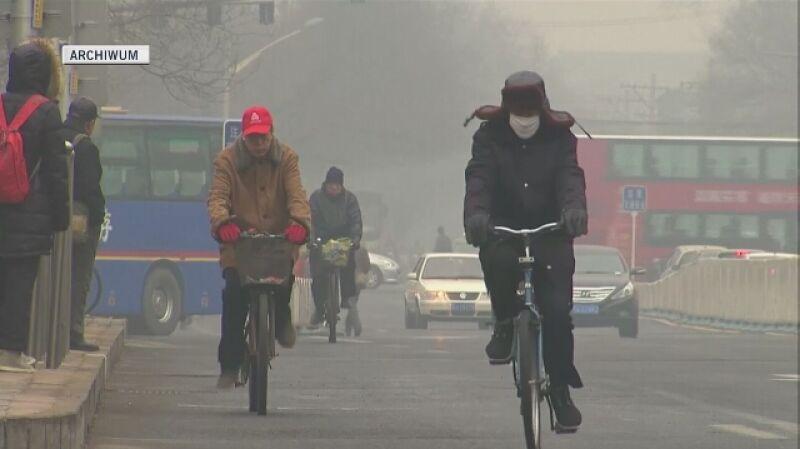 Smog dusi chińskie miasta