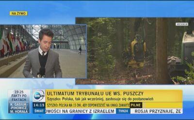 Interpretacja ministra Szyszki i dosłowna treść orzeczenia