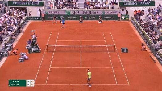 Płaczące dziecko przerwało finał French Open